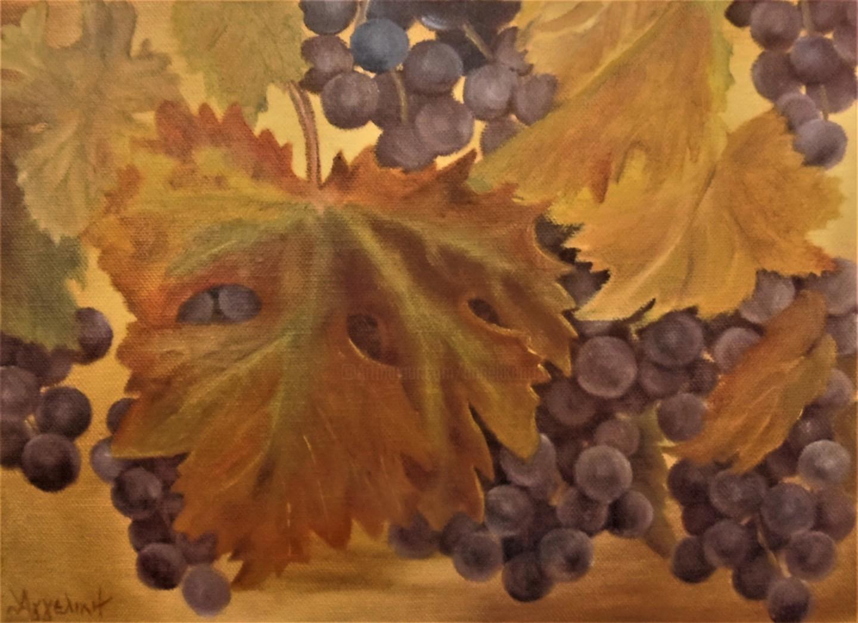 "Ageliki [Αγγελικη] - ""August"" by Ageliki, 35X25cm, oil on canvas"