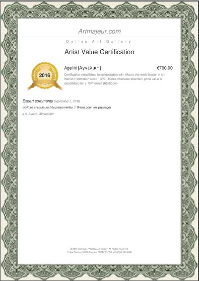 Artist Value Certification - by AKOUN