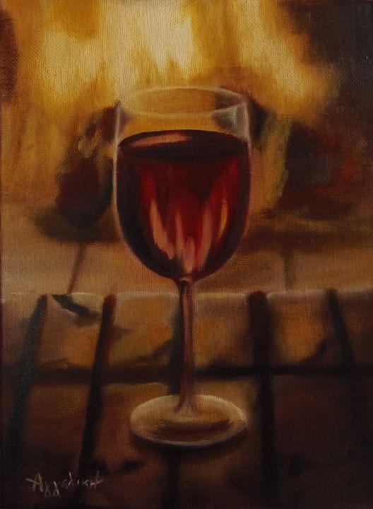 """Ageliki [ΑγγελικΗ] - """"A glass of wine"""""""